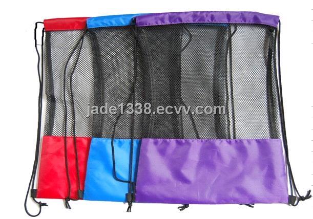 Drawstring Mesh Bag Nylon Bags Laundry