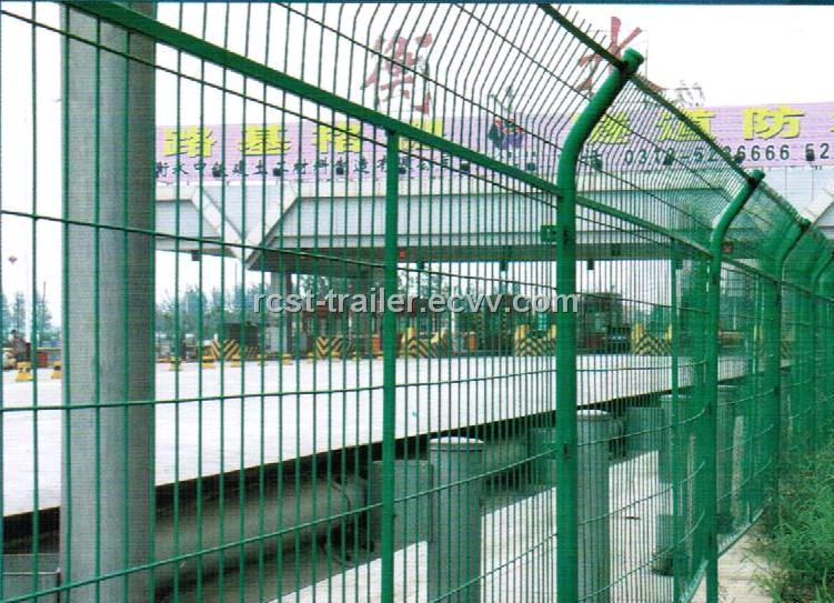 high quality welded wire mesh fence and high way protection fencings ...