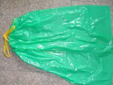 pe garbage bags with drawstring
