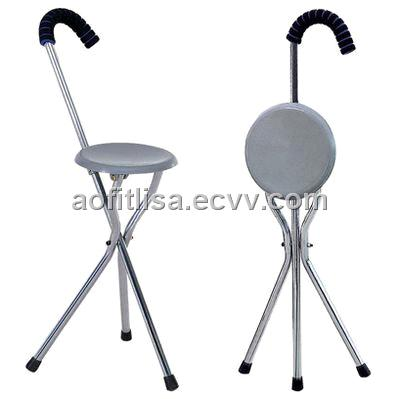 Elderly cane seat walking stick portable  sc 1 st  ECVV.com & Elderly cane seat walking stick portable purchasing souring agent ...