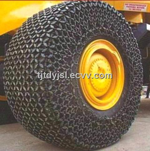 High Quality Tyre Protection Chain For Wheel Loader From