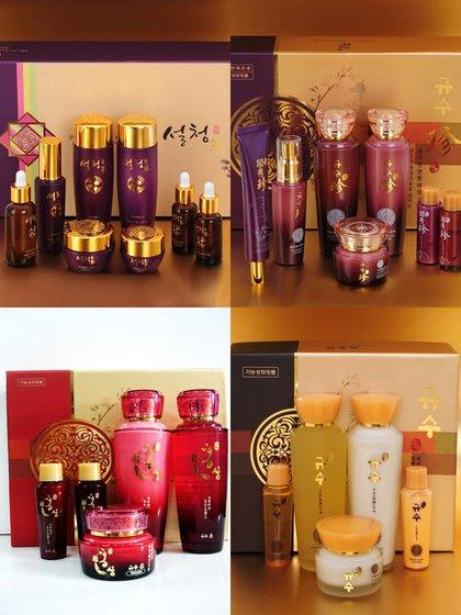 Herbal Cosmetic Sets from South Korea Manufacturer