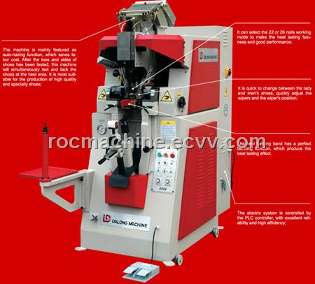 Automatic Heel Seat Tacking Lasting Machine