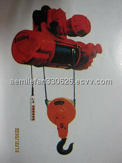 CD1 MD1 wire rope electric hoist / electric rope hoist