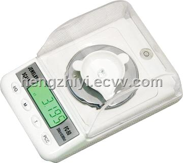 jewelry carat scale with tare function