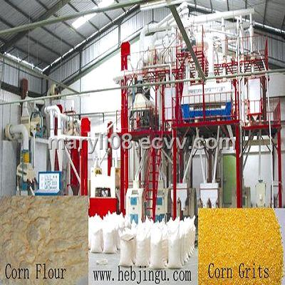 20 tons /day corn flour processing complete set equipment