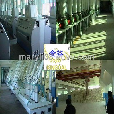 500 ton/day flour mill machinery