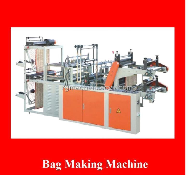 Computer Control High-Speed Continuous-Rolling Vest Bag-Making Machine