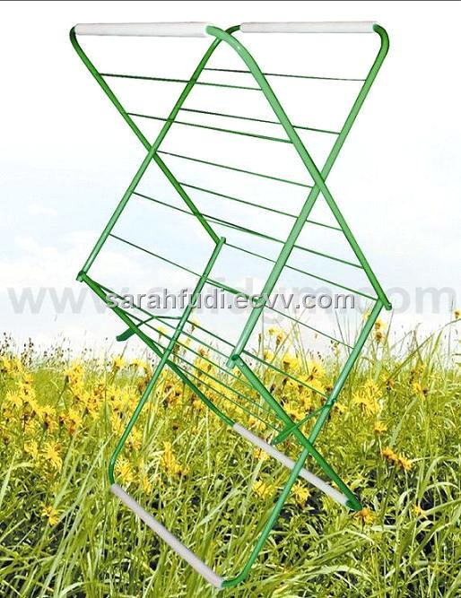 Foldable Two-Tier Drying Rack