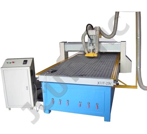 Wood CNC Engraver (JCUT-1325AV)(CNC Router with Vacuum Table and Dust Collector)