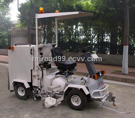 Small Size Driving Type Two-Component Road Marking Machine