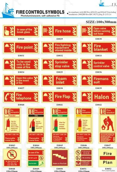 Fire Extinguisher Safety Signs From China Manufacturer