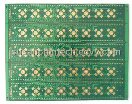 Multilayer PCB(4 layer with Halogen-Free FR4 TG170)