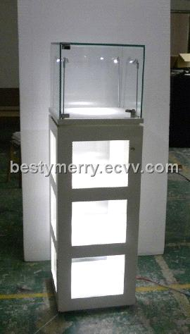 Charmant Pandora Small Glass Wisible Tower Display Cabinet