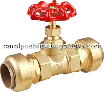 Push conncet valve(cUPC ACS ,NSF PATENT approved)