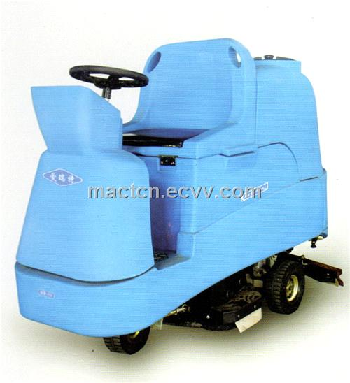 Drive-On Electric Scrubbing Machine (AXD- 750)