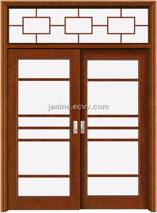Glass Sliding Wooden Door (OX-G611Y) purchasing, souring agent ...