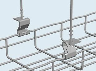 Hanysen Wire Mesh Cable Tray Trapeze Hanging Clip purchasing ...