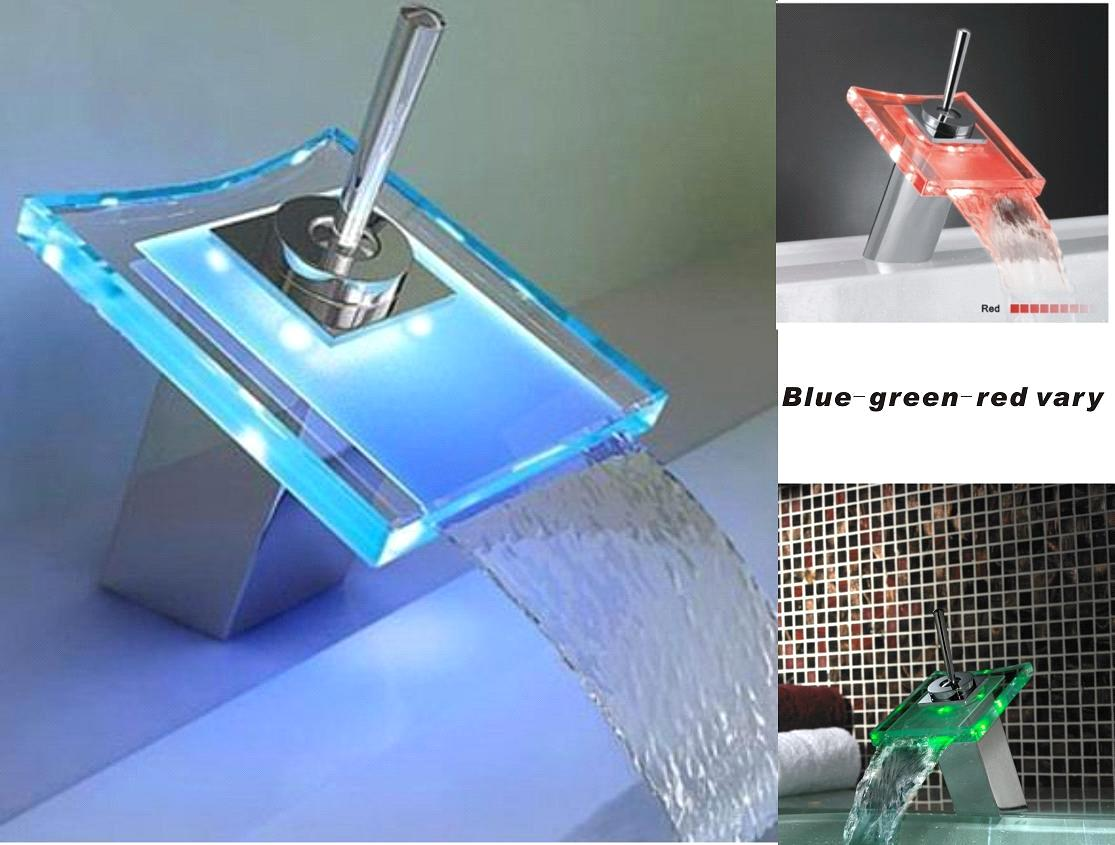 LED Glass Faucet for Bathroom Basin purchasing, souring agent | ECVV ...
