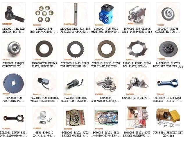 tcm toyota komatsu nissan heli hc dalian forklift forklift parts rh ecvv com nissan 50 forklift parts list