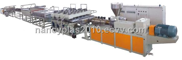 WPC Buildign Template Extrusion Line