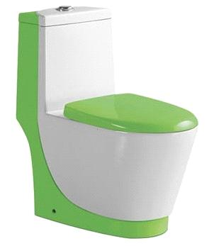 China Sanitary ware Suppliers Wash Down One-Piece Toilet (A-0172G)