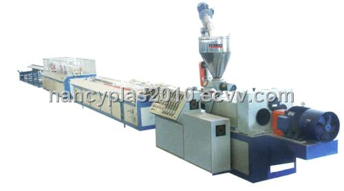 Wood Plastic Composite Decking Plate Production Line