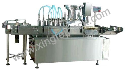 XFY Linear Liquid Filling and Capping Machine