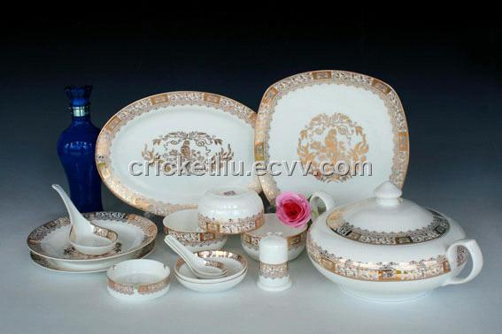 Chinese Porcelain Dinnerware Sets purchasing, souring agent | ECVV ...