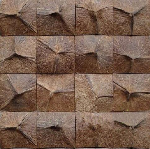 Coconut Tiles Coconut Mosaic Tile Coconut Wall Coverings