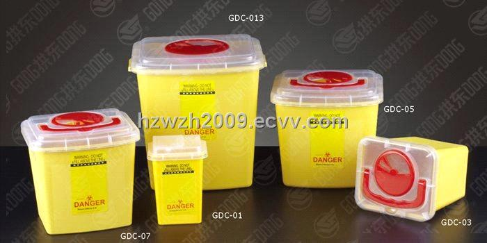 Plastic Sharp Container