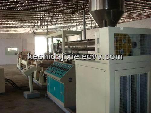 Horizontal Co-Extruder Sheet Product Line