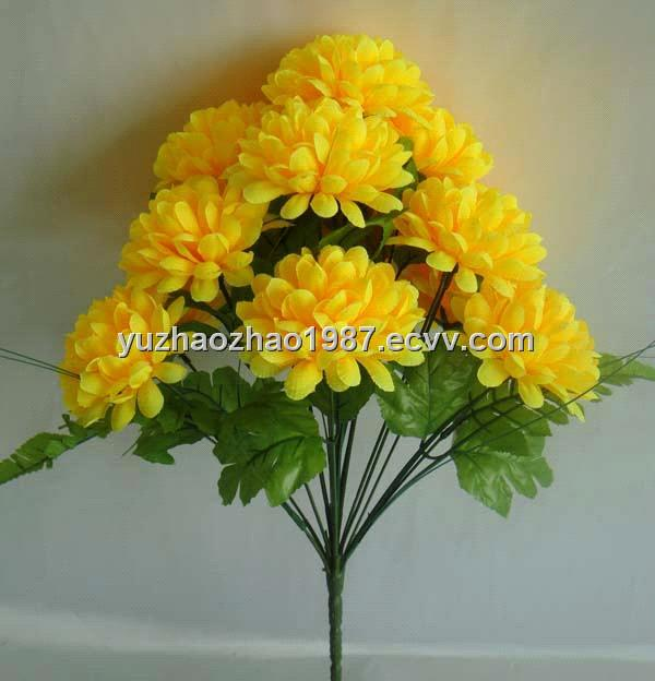 Artificial yellow flowers choice image flower decoration ideas artificial flowersyellow chrysanthemum purchasing souring agent artificial flowersyellow chrysanthemum mightylinksfo mightylinksfo