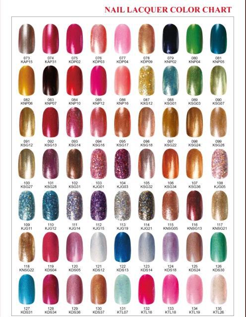 135colors Pass MSDS Nail Art Nail Polish/Nail Lacquer Makeup ...