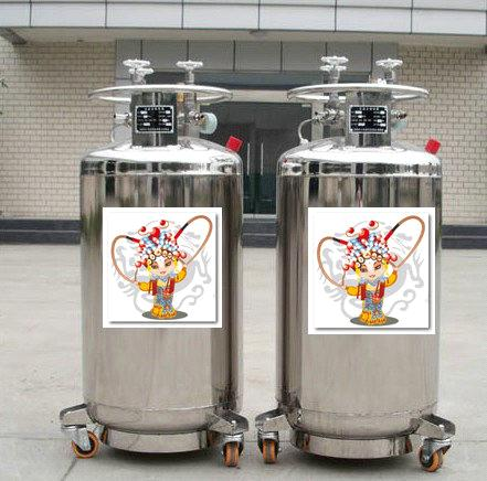 800L Cryogenic Liquid Oxygen/Nitrogen/Argon Storage and Transport Cylinder