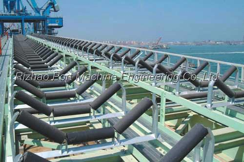 Belt conveyor idler roller set from China Manufacturer