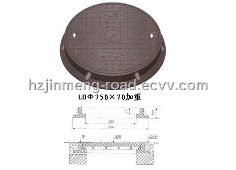 EN124 Cast Iron Manhole Cover