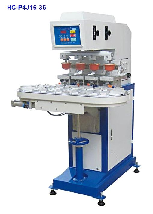 Four colours tampo printing machine from China Manufacturer