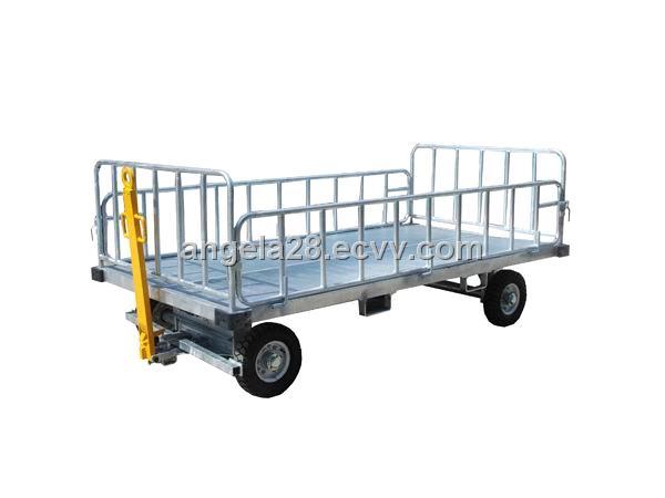 c538f98986bc Four-Rail Baggage Cart