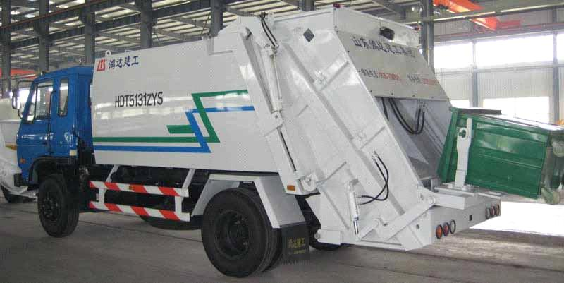 Garbage Compress Truck