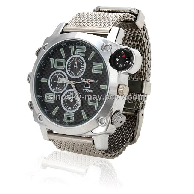 HD Waterproof Watch Camera 1080P