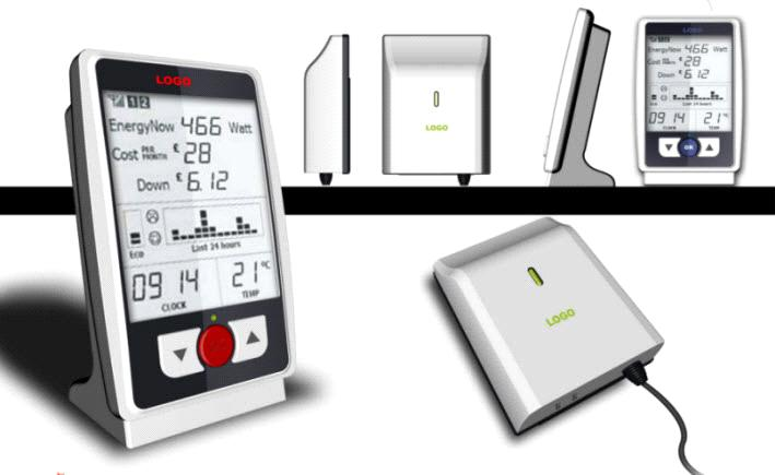 Solar Power Monitoring System : Home inverter energy control system with solar power