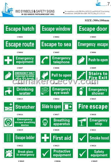 Imo Symbols And Safety Signs Purchasing Souring Agent