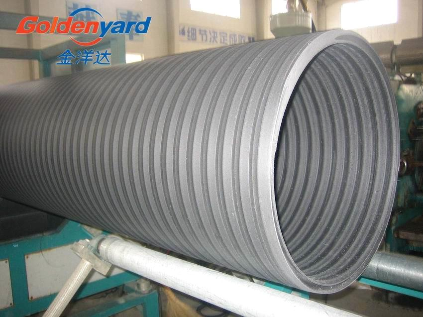 Hdpe spiral pipe for sewage drainage purchasing souring