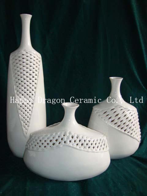 Modern Porcelain Decorative Vase Flower Vase Home Decorationart