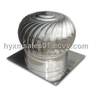 No-Power Roof Turbine Ventilator with High Efficient Venting Function