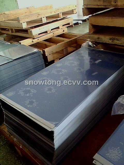 PVC Flim Laminated Flower Steel for Fridge