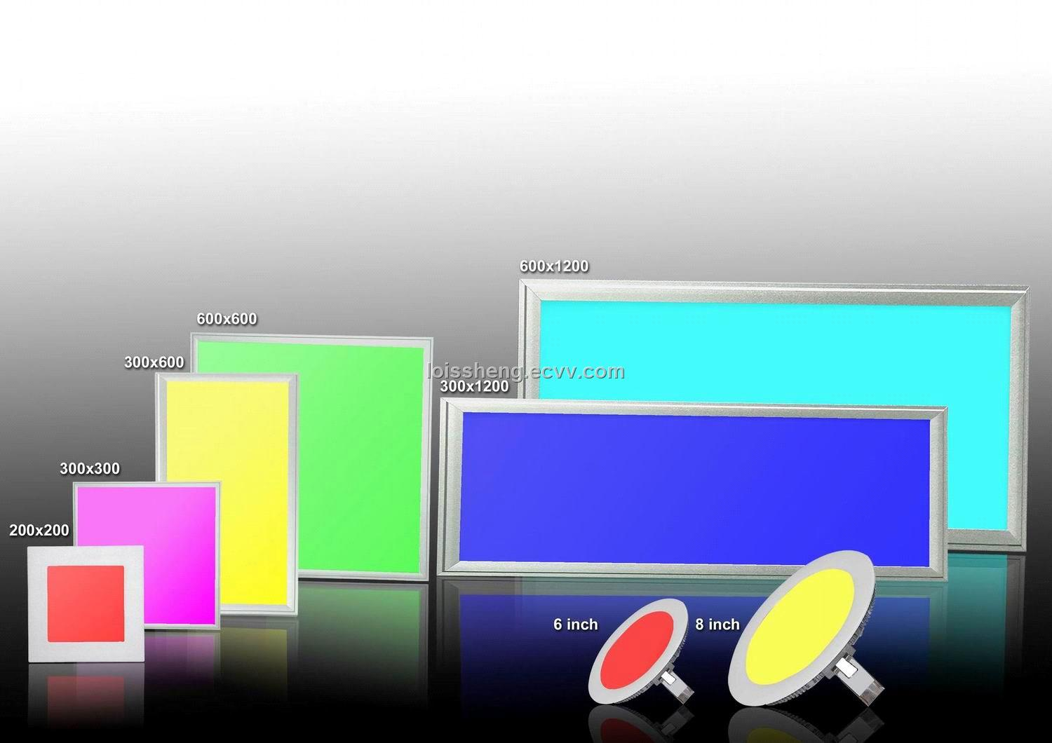 RGB LED Ceiling Panel--Available in Different Sizes and Colors