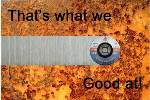 Reliable and stable quality grinding wheel (IVY)