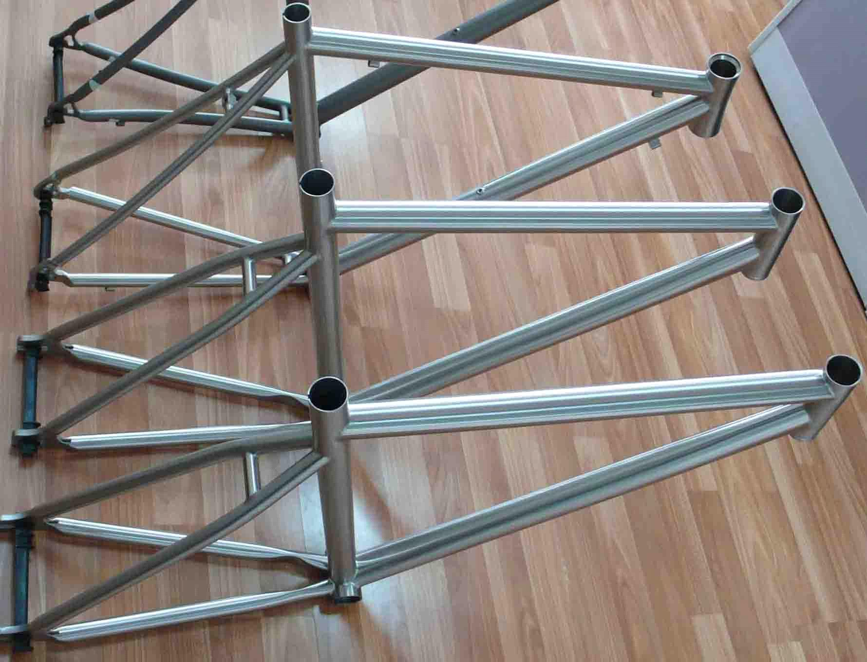 Titanium bicycle frame&parts
